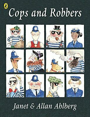 Cops and Robbers (Picture Puffin), Ahlberg, Allan Paperback Book The Cheap Fast