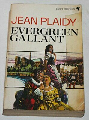 Evergreen Gallant by Plaidy, Jean Paperback Book The Cheap Fast Free Post