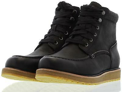 UGG Boots Men's Merrick Black Leather Waterproof  SZ 12  SHIP TODAY!