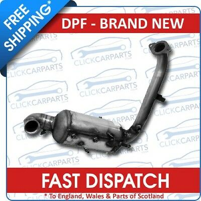 FITS FORD FOCUS 1.6 TDCi (07/04-07/11) DIESEL PARTICULATE FILTER DPF & CAT