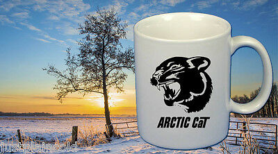 Arctic Cat snowmobile vintage style Coffee Mug set of Two #1