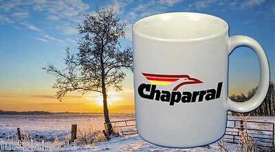 Chaparral vintage snowmobile style Coffee Mug set of Two