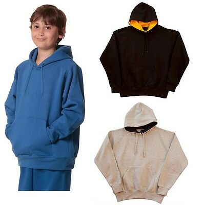 New Kids Boys Girls Passion Fleecy Hoodie Casual Sport Jumper Top Uniform Winter