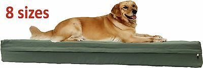 Durable Canvas zipper cover + waterproof liner for dog bed pet bed