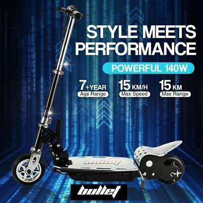 BULLET TRZ 140W Electric Scooter Adjustable and Foldable for both Adults / Kids