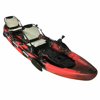 SIT ON TOP DOUBLE THREE SEAT TANDEM  INC 2 CE BUOYANCY AIDS CAMBRIDGE KAYAK