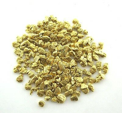 Alaskan-Yukon Natural Gold Nugget 18-16  Mesh .05 Troy Oz.1.55 Grams or 1 DWT
