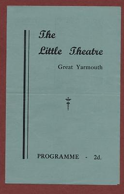 Great Yarmouth. Little Theatre. 1947  'Payment Deferred'  ed7