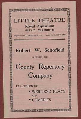 Great Yarmouth. Little Theatre. 'Suspect'  Kathleen Gay / Basil Gough ed20
