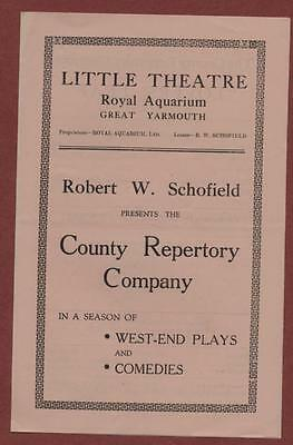 Great Yarmouth. Little Theatre. 'Lovers Leap'  ed23