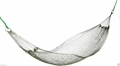 Camping Hammock Military Olive Green Nylon Survival Army Bushcraft Backpacking