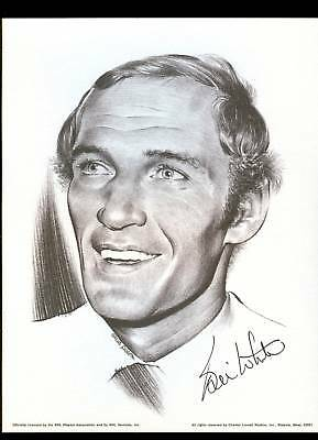 1974 Bill White Chicago Blackhawks Linnett Portrait