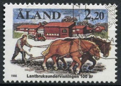 Aland Islands 1988 SG#31 Agricultural Education Used #A83910