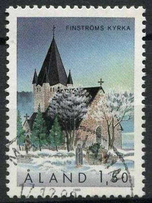 Aland Islands 1989 SG#40 St. Michaels Church Used #A83923