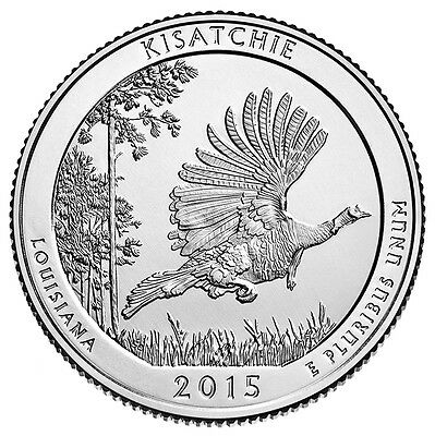 2015-P&D Kisatchie National Forest In Louisiana Quarters