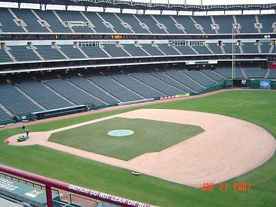 Two (2) Tickets - HOUSTON ASTROS at TEXAS RANGERS - Sunday 4/12