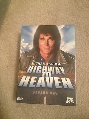 Highway to Heaven - The Complete Season 1 (DVD, 2005, 7-Disc Set) GREAT