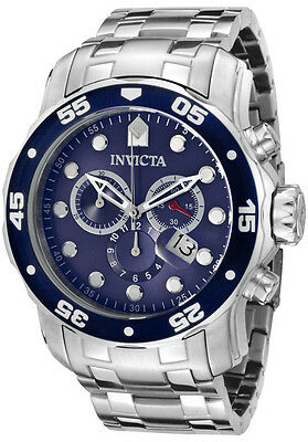 Invicta  0070 Pro Diver Collection Stainless Steel Watch with Link Bracelet