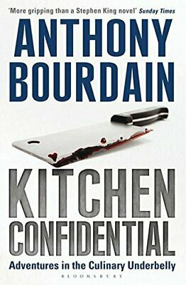 Kitchen Confidential, Anthony Bourdain Paperback Book The Cheap Fast Free Post