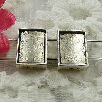 Free Ship 180 pieces Antique silver cute spacer 14x10mm #989