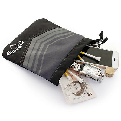 Callaway Golf 2015 Sport Valuables Pouch Accessories Bag - Gray/Black