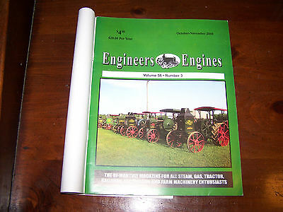 Engineers and Engines Magazine Oct-Nov 2010 Rumley OilPulls on cover