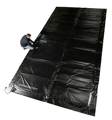 Concrete Curing - Powerblanket MD0520 Electric Concrete Curing Blanket, 5' x 20'