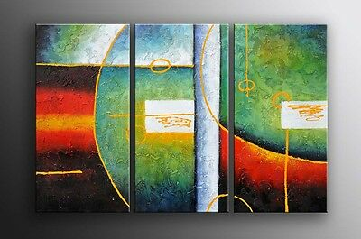 Oil Painting canvas Art - ABSTRACT MODERN ART DECO