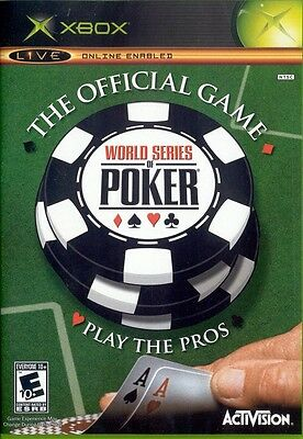 Xbox Poker Game - World Series of Poker - Play the Pros