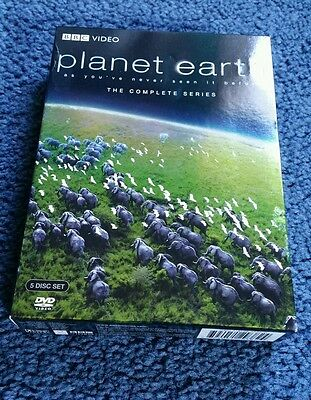 PLANET EARTH - The Complete Series (4 Disc Set) - 2007