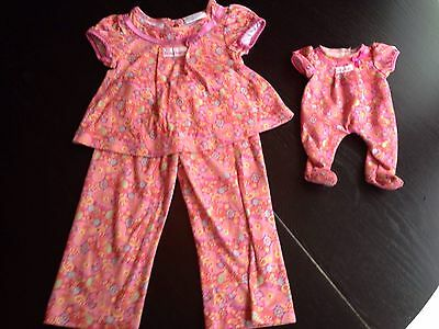 Bitty Baby Clothes And Matching Pajamas For Toddler Girl