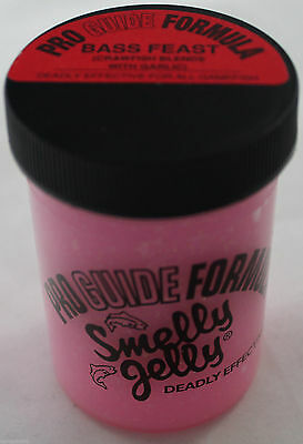 Catcher Smelly Jelly 4 Oz. Pro Guide Formula  Fishing Bait Scent #388 Bass Feast