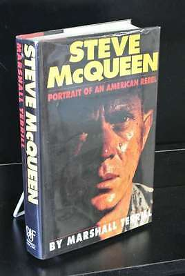 Steve McQueen: Portrait of an American Rebel, Marshall Terrill, SIGNED TWICE; si