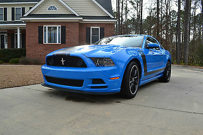Ford : Mustang Boss 302 Coupe 2-Door 2013 ford mustang boss 302 coupe 2 door 5.0 l