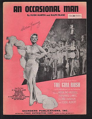 An Occasional Man 1955 The Girl Rush Rosalind Russell