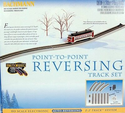 Bachmann HO Scale Train E-Z Track System Auto Reversing Complete System 44547