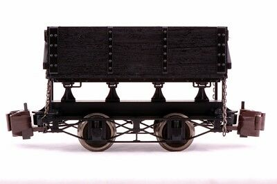 Bachmann G Scale Train (1:20.3) Ore Cars Black Side Dump 92503