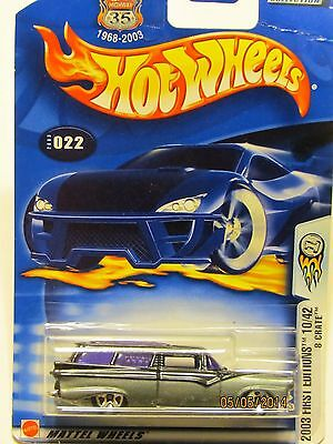 MATTEL HOT WHEELS /2003 FIRST EDITIONS 10/42 --8 CRATE COLLECTOR NO. 022