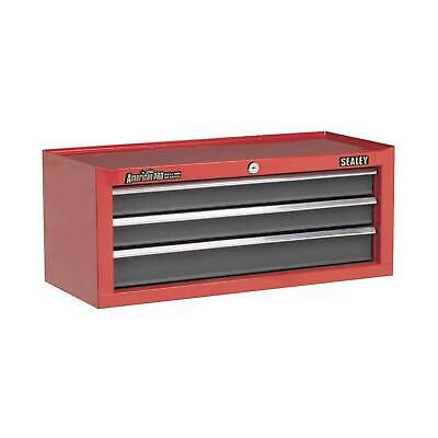 Sealey Add-On Tool Chest 3 Drawer With Ball Bearing Runners-Red/Grey - AP22309BB