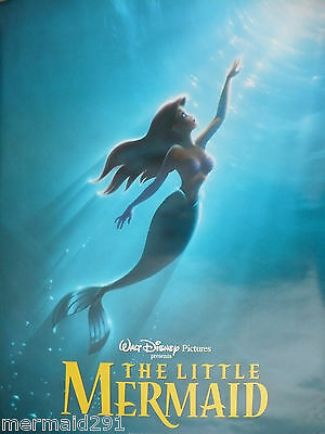 The Little Mermaid (Ariel) Double Sided Teaser Movie Poster 1998 Release