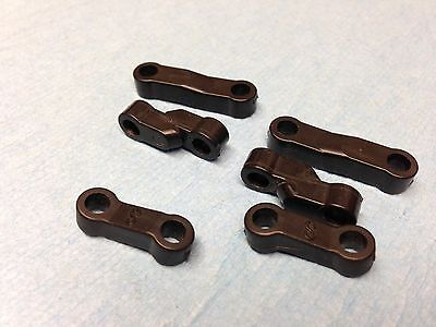 HPI RS4 Mini Front and Rear Upper Control Arm Links (Nitro or Electric)