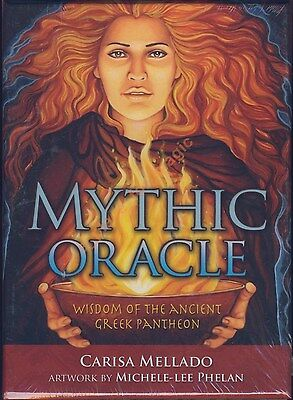 NEW Mythic Oracle Cards Deck Carisa Mellado Michele-lee Phelan