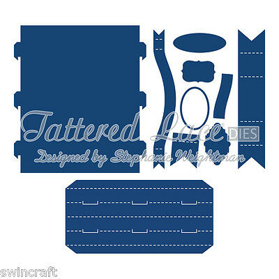 Tattered Lace Cutting Dies PANORAMA Stephanie Weightman LATEST DESIGNS