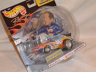 Hot Wheels Radical Rides #44 Kyle Petty Nascar 2000 limited edition #28058