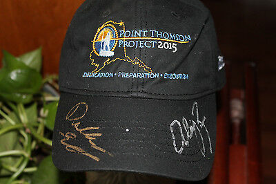 2  X  in a row  Winner Autographed  Dallas Seavy &Ally Zirkel Hat Extremely Rare