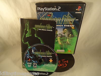 SYPHON FILTER The Omega Strain ! ( Sony Playstation 2 PS2 Game) COMPLETE!