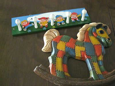 Combination of Two Wall Hangings for a Child's Room 1982 Chadwick-Miller