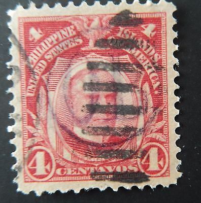 Philippines stamp American Occupation Large Hand stamp O.B.  used hinged