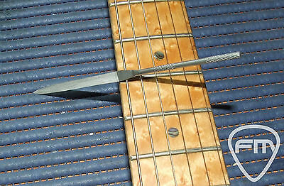 Fret End Dressing File for Guitar, Bass, Mandoline - Luthier Tool - Made in UE