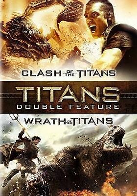 Clash of the Titans/Wrath of the Titans (DVD, 2015, 2-Disc Set) *NEW